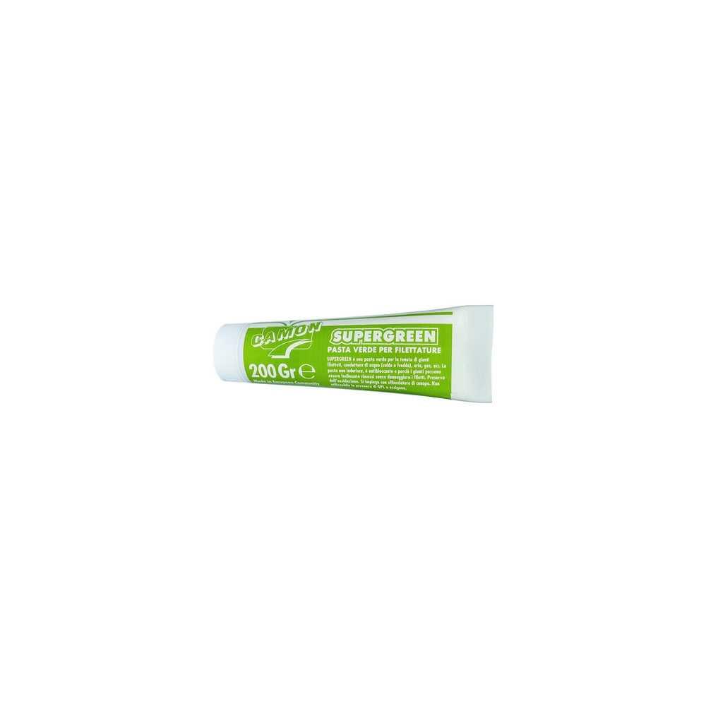 Tubo da 200 gr. di pasta verde per la tenuta di giunti filettati
