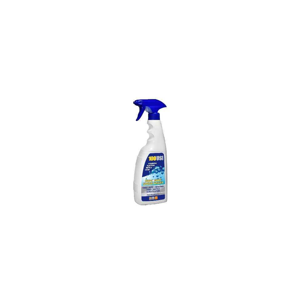 Sgrassante 100 USI Sprayer 750 ml ideale per ceramiche, plastiche e metalli