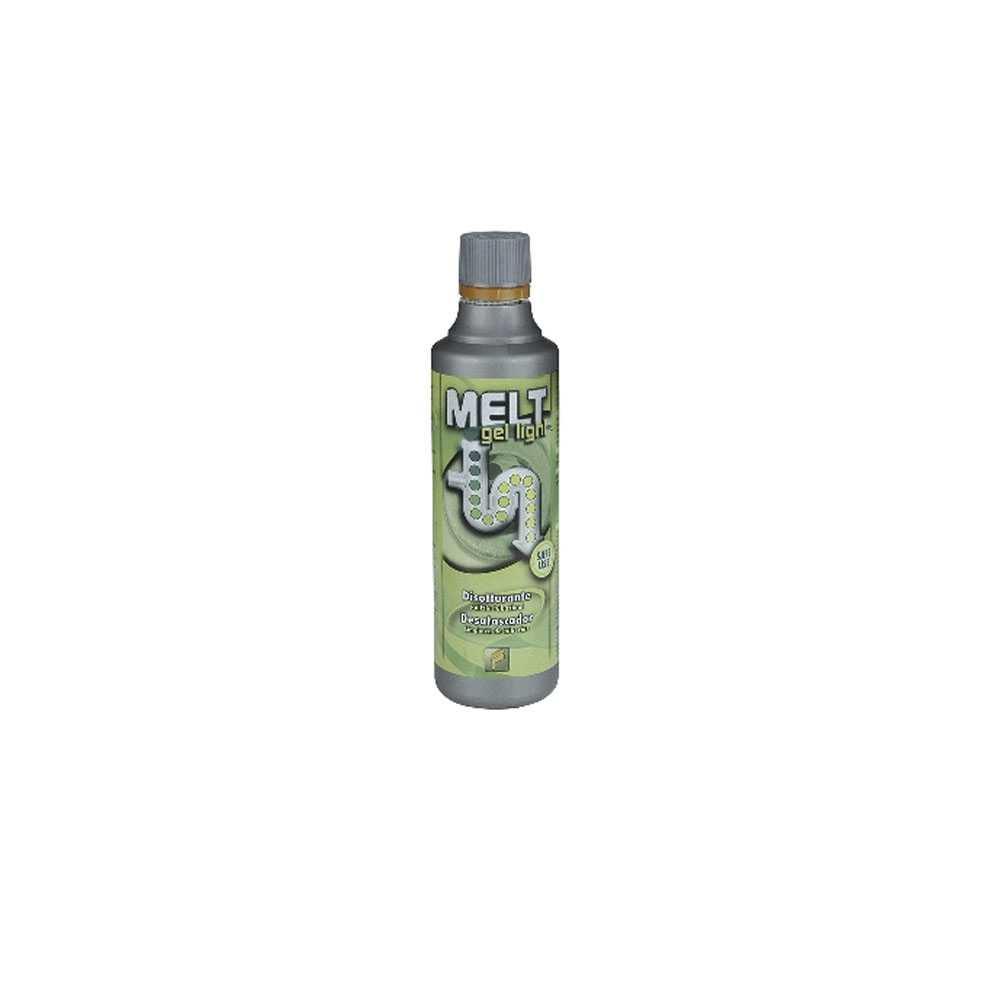 Disgorgante domestico Melt Gel Light 500 ml  per scarichi lenti e ostruiti