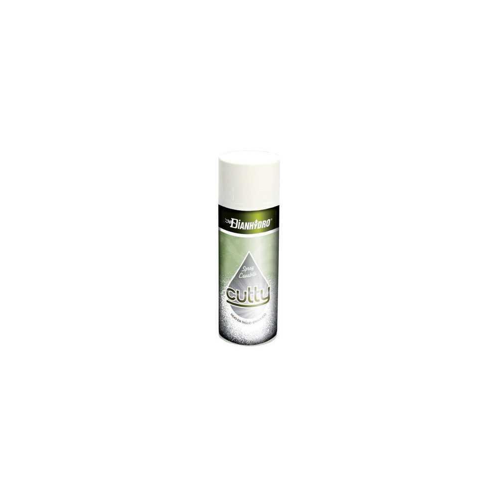 Spray olio da taglio 400 ml Cutty ideale per filettare, trapanare e segare