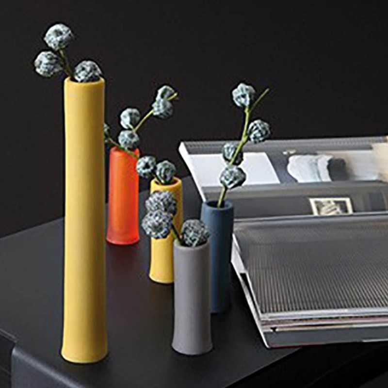 Cilindro contenitore in gel Poliuretanico mod. ASSOLO GEELLI