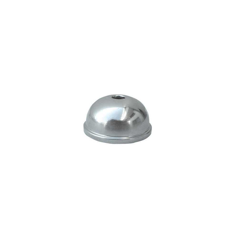 Coppetta sottolavabo in inox diametro interno 12 mm