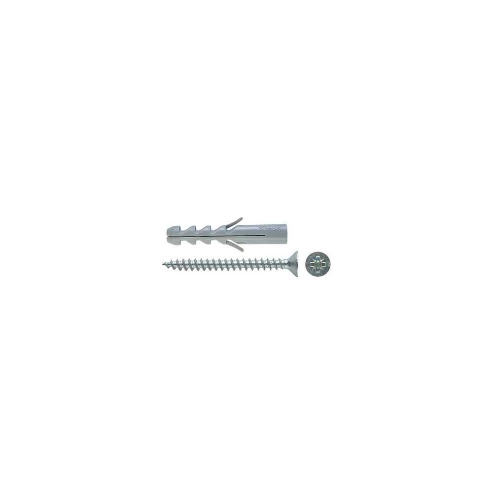 Tassello Fischer con vite in acciaio SV diametro 6
