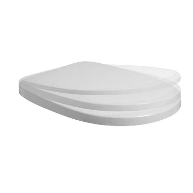 Coprivaso in termoindurente Ceramica Azzurra Pratica Softclose