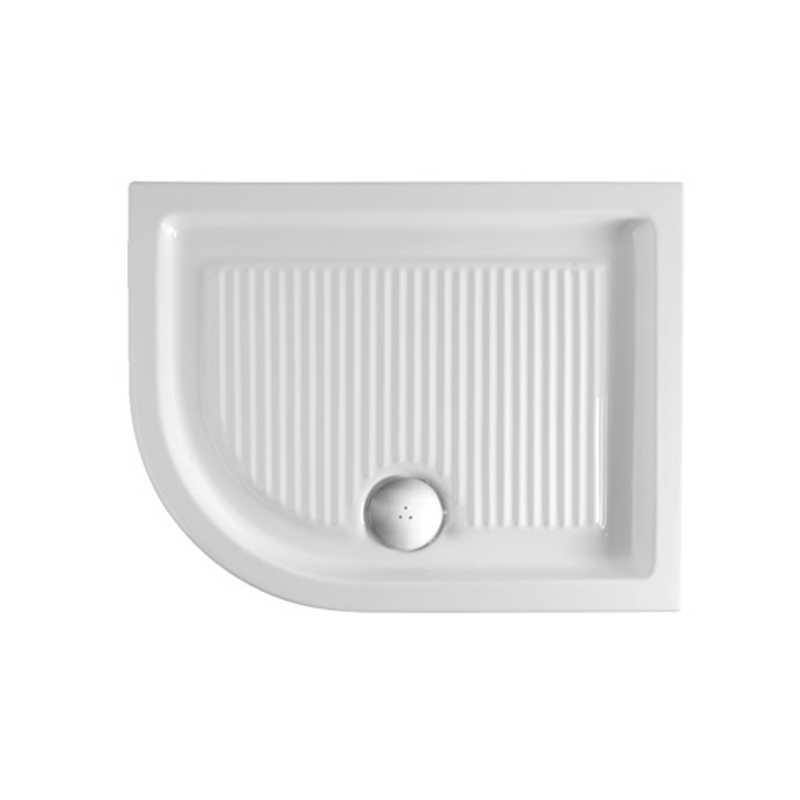 Piatto Doccia 70X90 Angolare Sinistro mod. Plano Ceramica Globo