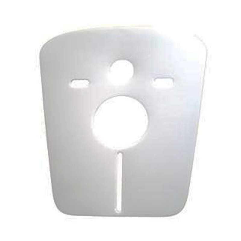 Protezione acustica e antiurto per sanitari sospesi