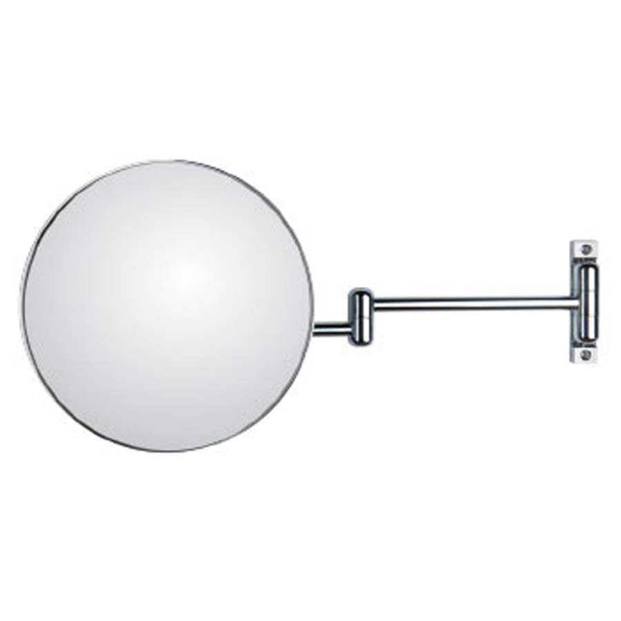 Specchio ingranditore orientabile koh-i-noor modello Discolo con braccio doppio