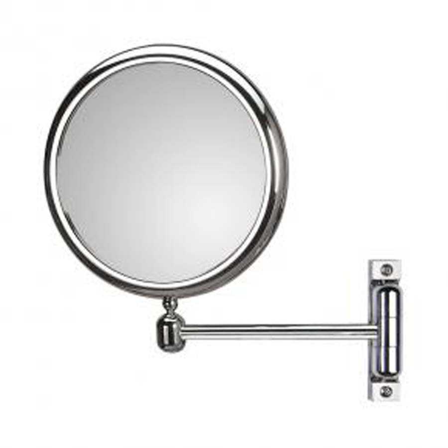 Specchio ingranditore bifacciale orientabile koh-i-noor modello Doppiolo con braccio singolo