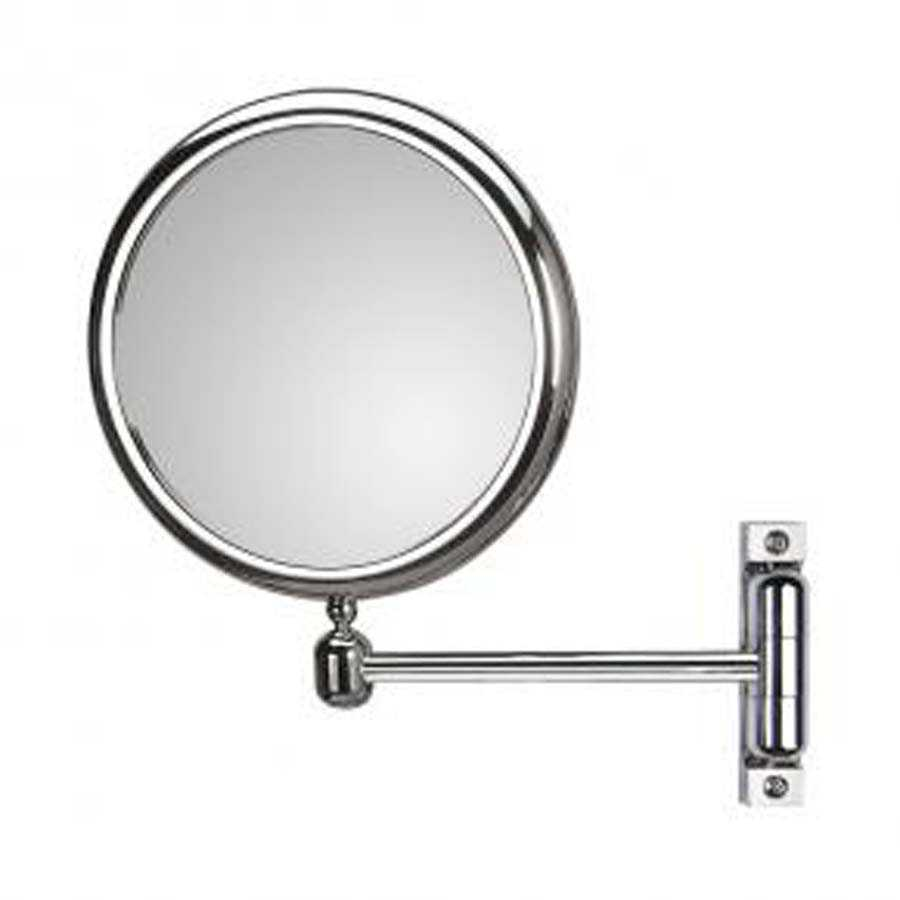Specchio ingranditore bifacciale orientabile koh-i-noor modello Doppiolino con braccio singolo