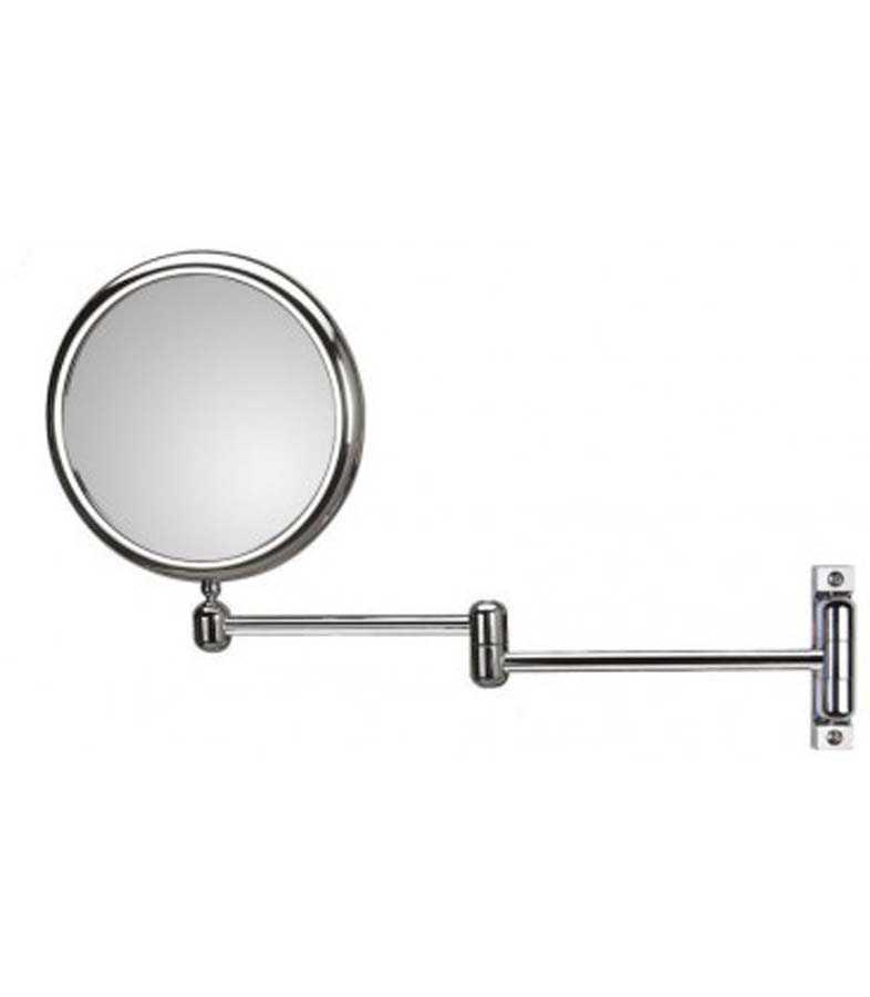 Specchio ingranditore bifacciale orientabile koh-i-noor modello Doppiolino con braccio doppio