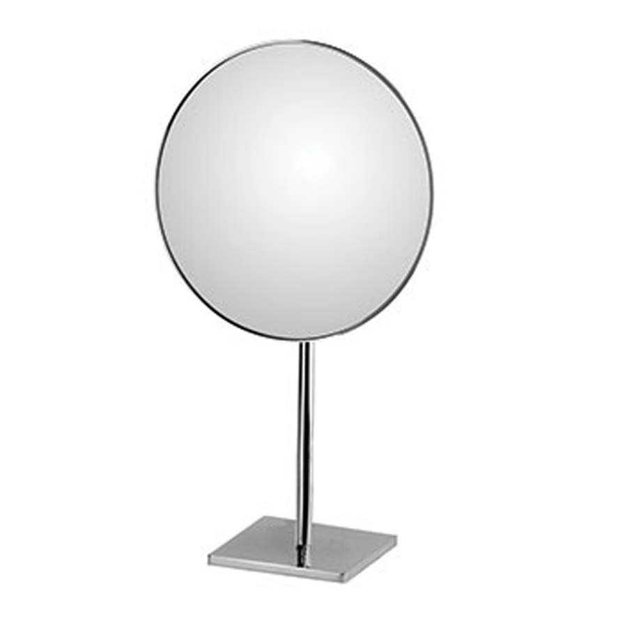 Specchio da tavolo ingranditore bifacciale orientabile koh-i-noor modello Doppiolino