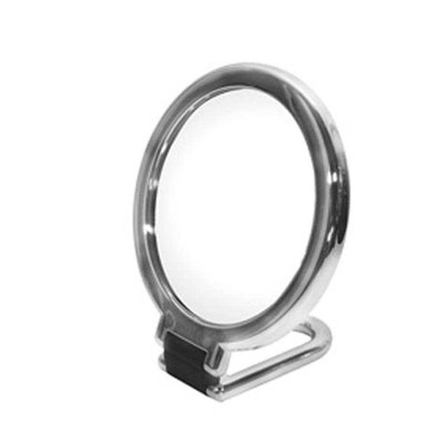 Specchio ingranditore bifacciale con manico pieghevole modello Toeletta di Koh-i-Noor