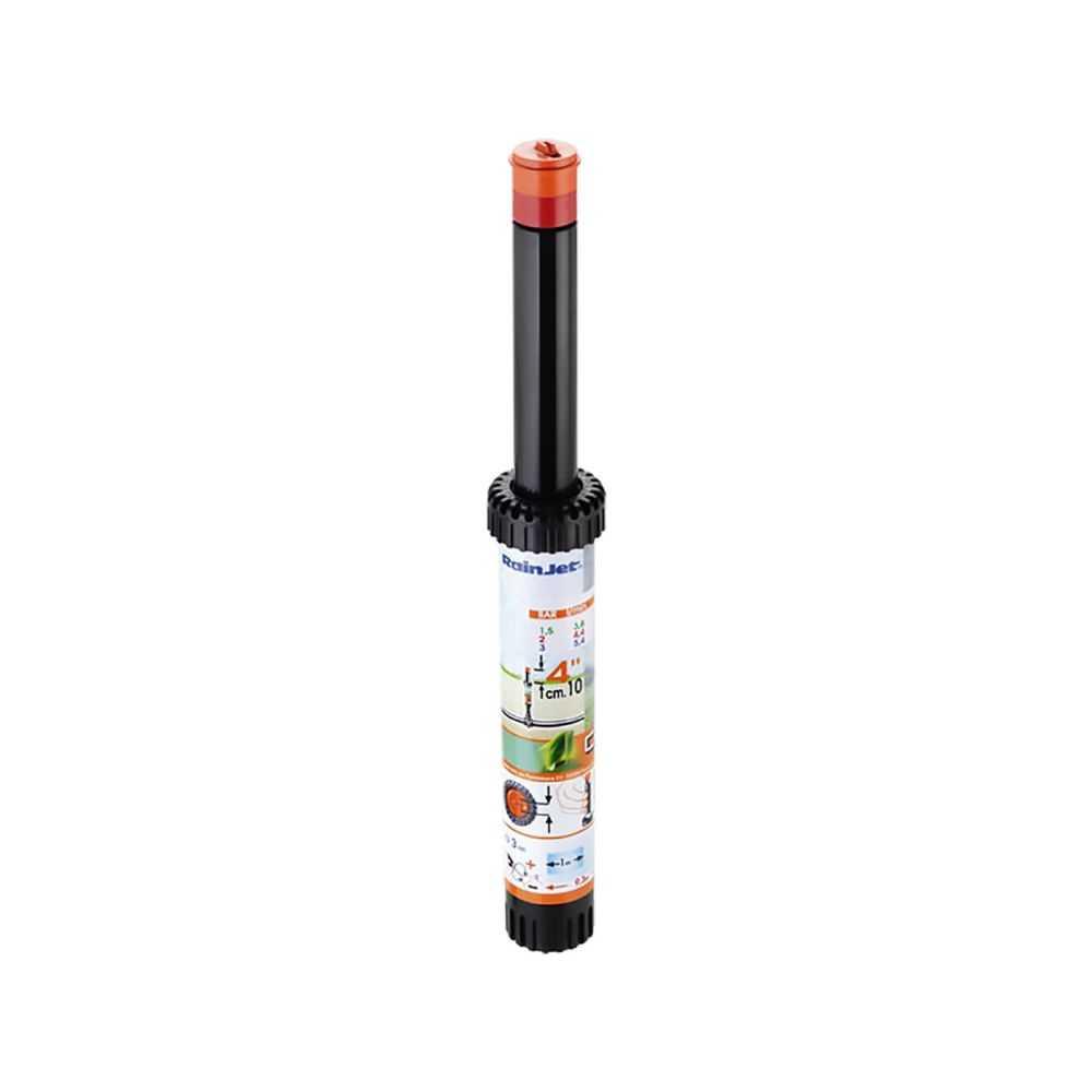 Irrigatore POP-UP statico regolabile, fine banda, escursione 4'