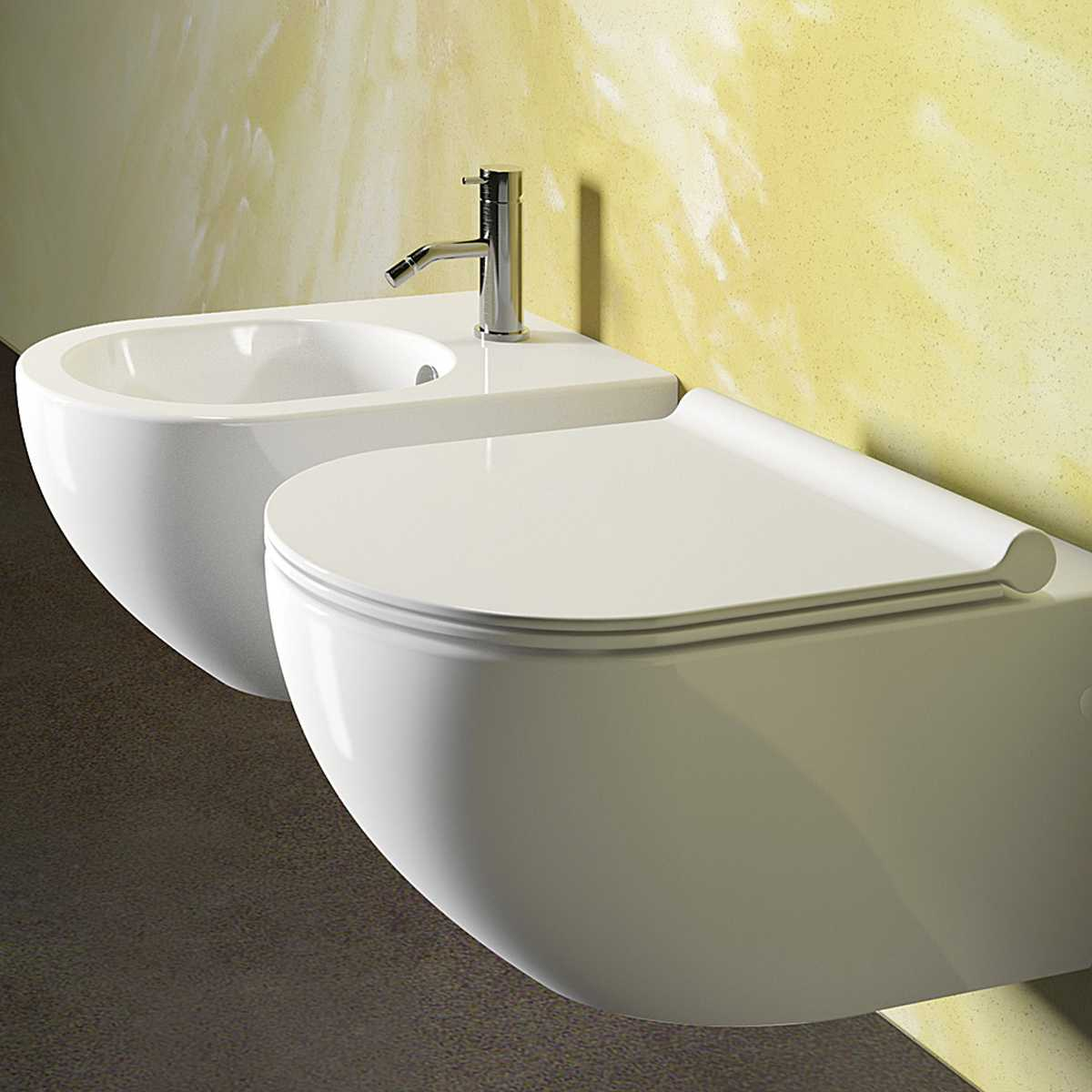 Sanitari Sospesi Ceramica Catalano Sfera 54 con sedile soft close slim ECO