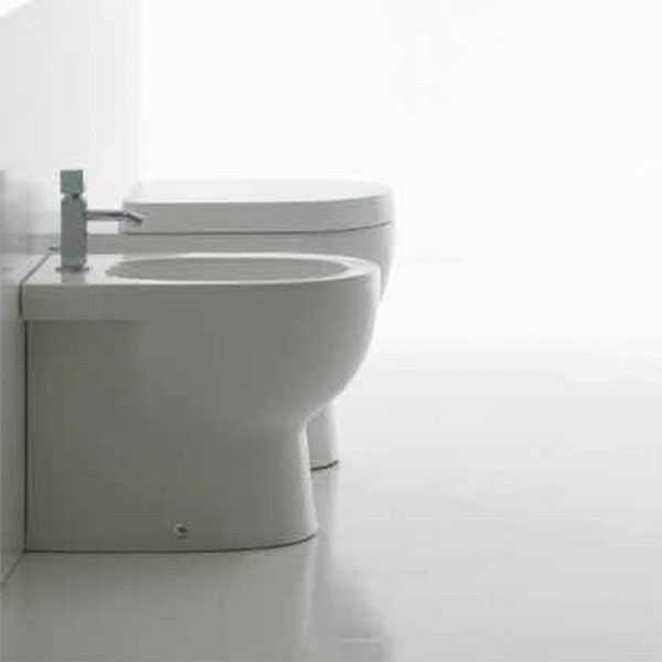 Sanitari Filo Muro Domus Falerii  Foglia Small wc  bidet sedile soft close