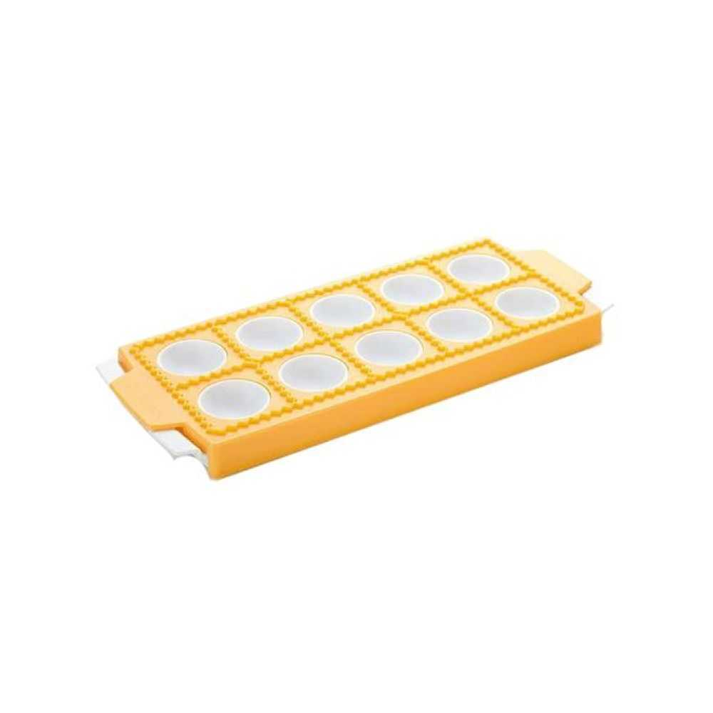 Stampo in plastica per 10 ravioli tondi  prodotto da Tescoma