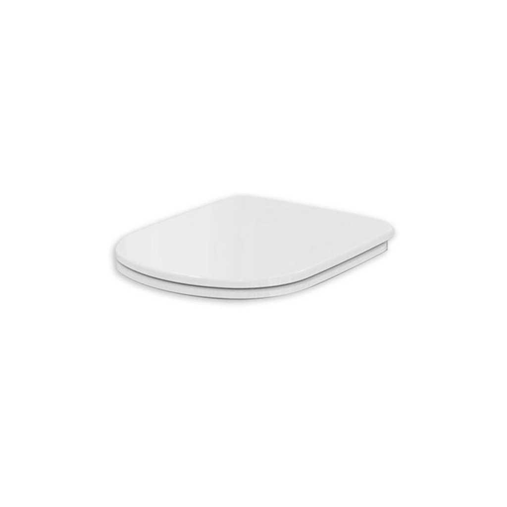 Coprivaso con cerniere in metallo realizzato in termoindurente per WC Dolomite Gemma 2