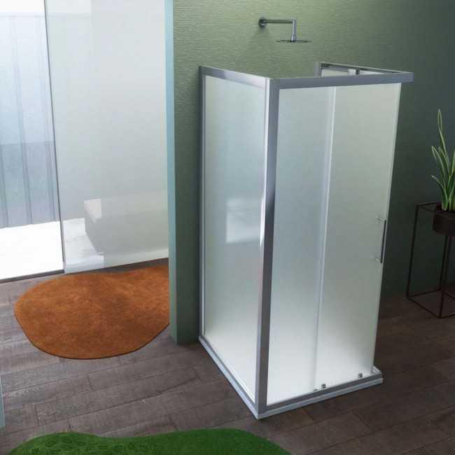 Parete fissa per Box doccia Hera Cristallo Trasparente