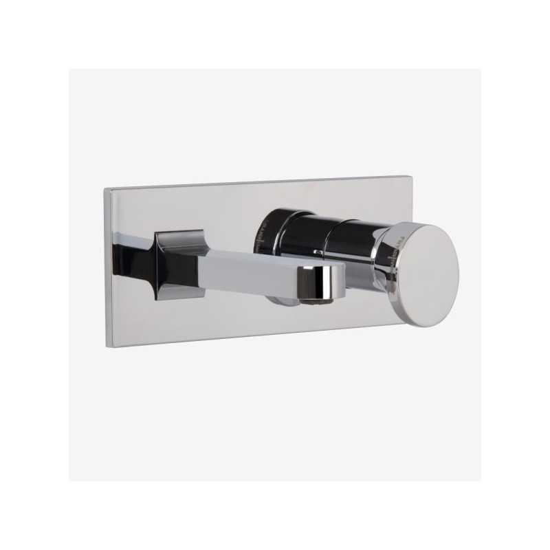 Miscelatore rubinetto lavabo a muro FIMA Carlo Frattini NEXT con leva corta
