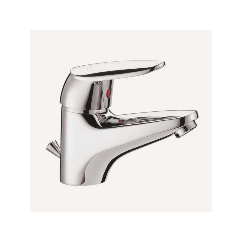 Miscelatore rubinetto lavabo FIMA Carlo Frattini Serie 2 completo di piletta