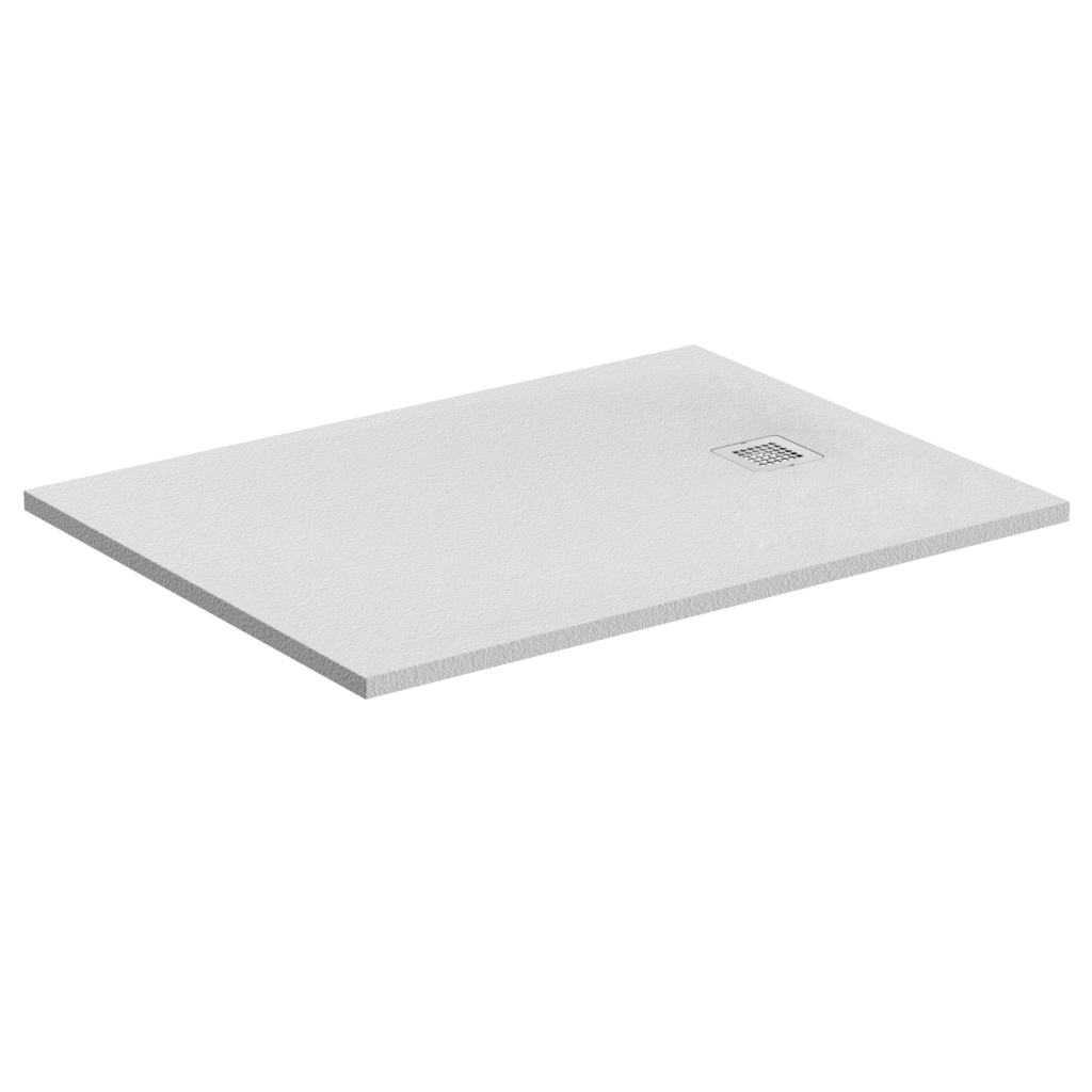 Piatto doccia rettangolare Effetto Pietra 80x140 Ideal Standard Ultra Flat S- Piletta NON inclusa