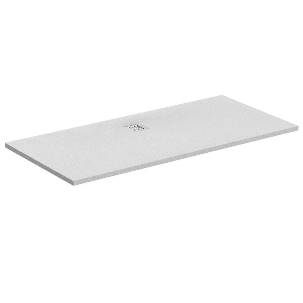 Piatto doccia rettangolare Effetto Pietra 70x170 Ideal Standard Ultra Flat S- Piletta NON inclusa