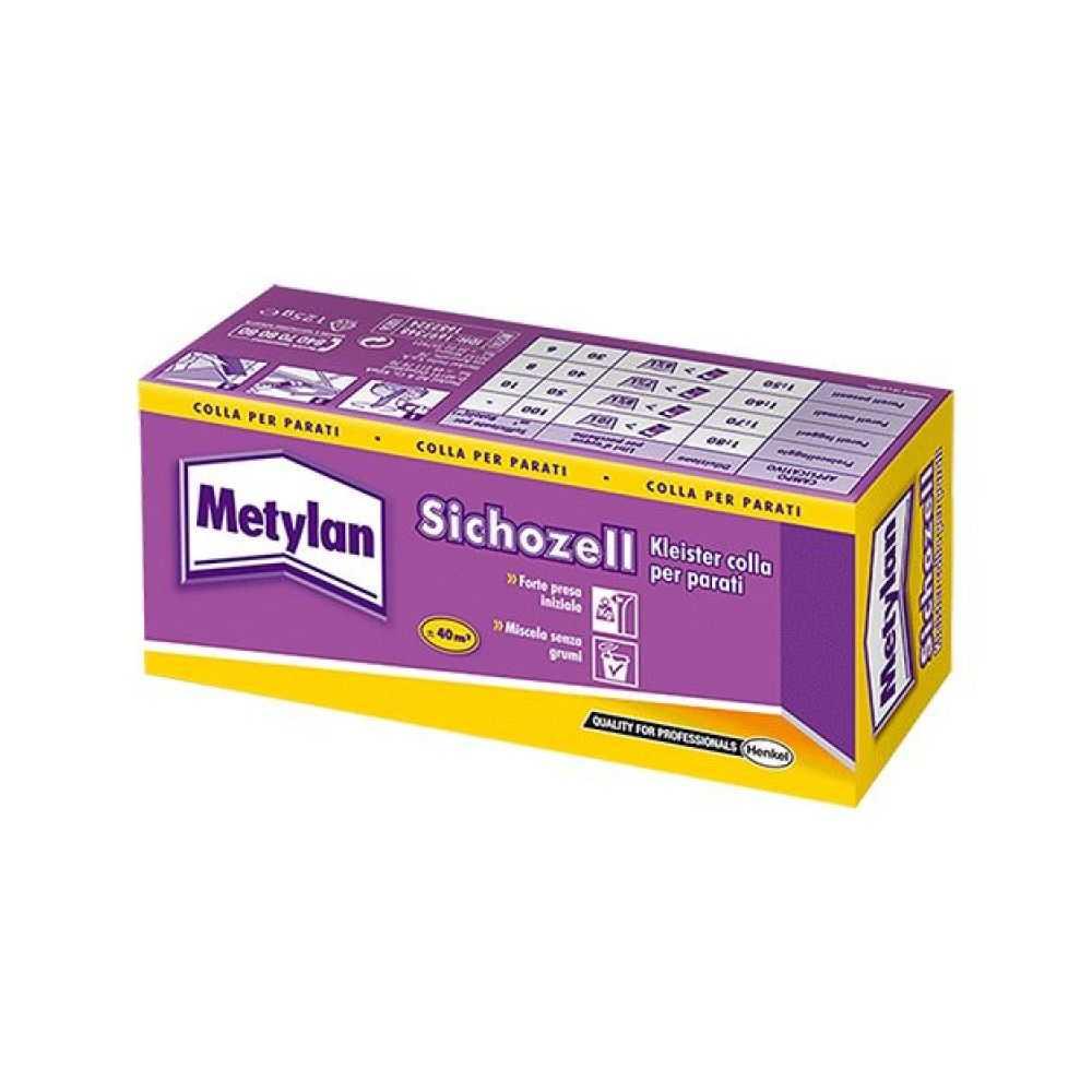 Colla per carta da parati 'metylan sichozzell kleister' gr 125