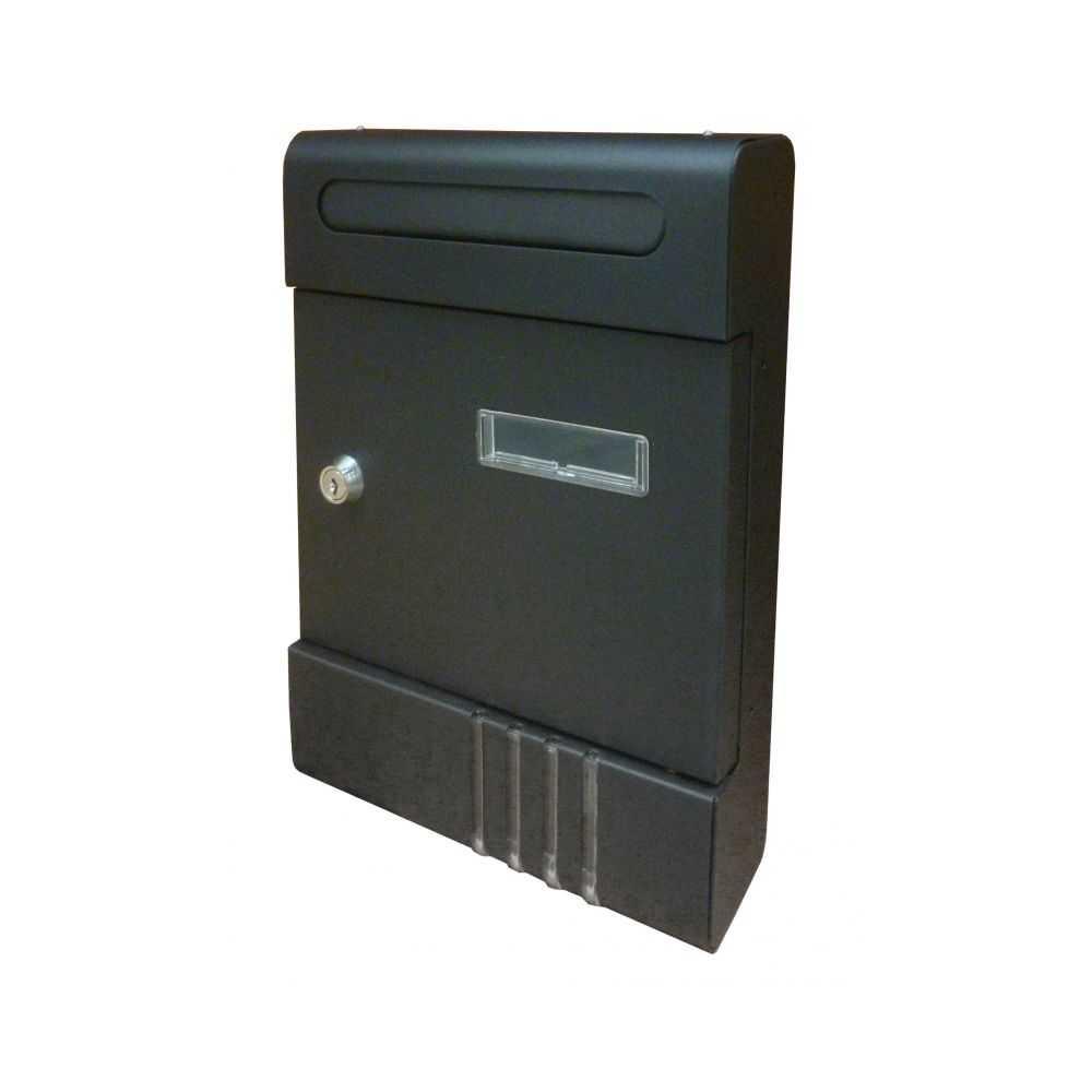 Cassetta postale CONDOMINIO in acciaio colore ANTRACITE.