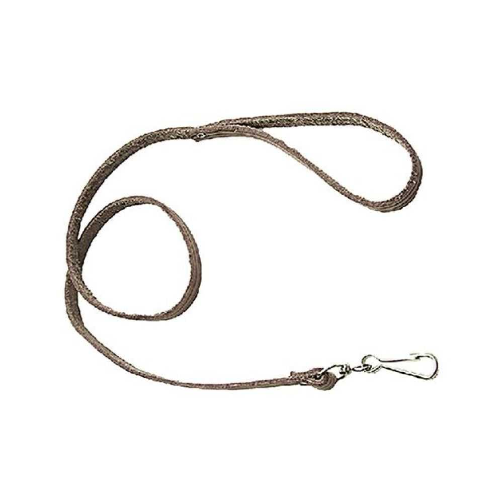 Guinzaglio per cane in cuoio a striscia, lunghezza cm 80
