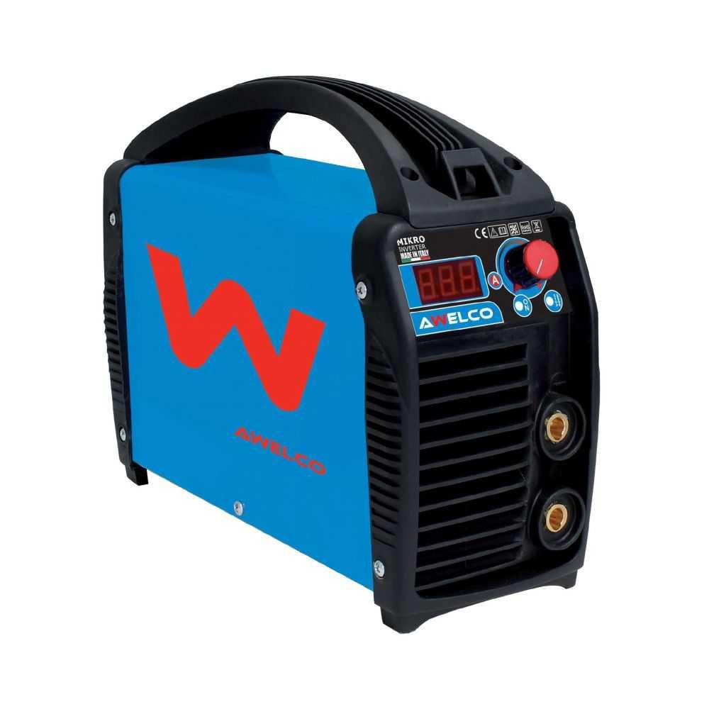 Saldatrice Awelco inverter Mikro 164 C/Kit