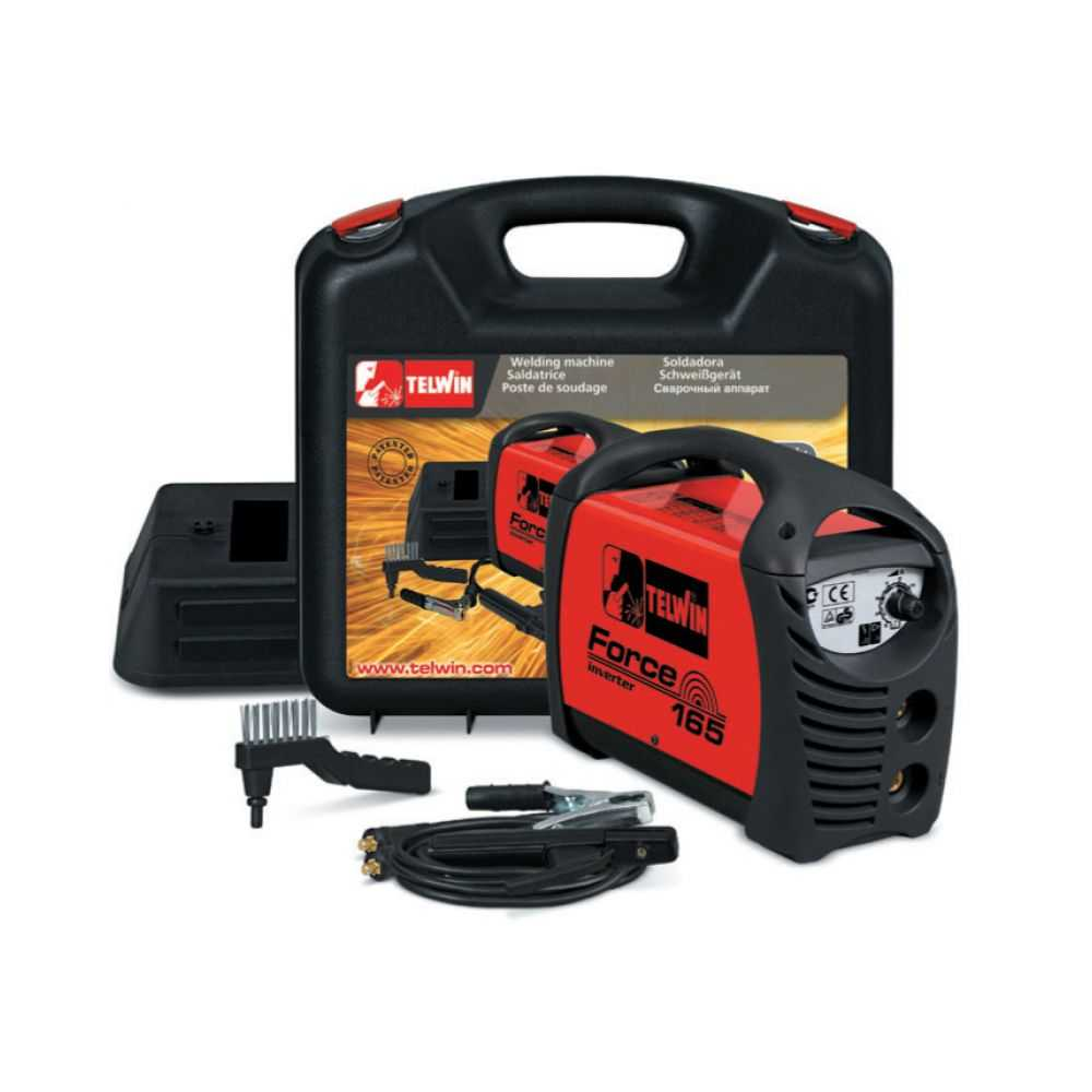 Saldatrice inverter Force 165 + kit + valigetta - Telwin