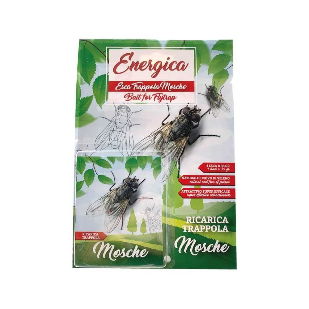 Esca per trappola ecologica cattura mosche - 2 pezzi da 25 gr