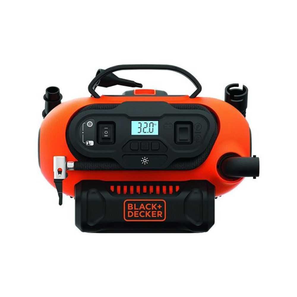 Compressore portatile 'BDCINF18N-XJ' 12V/230V capacità 160 PSI