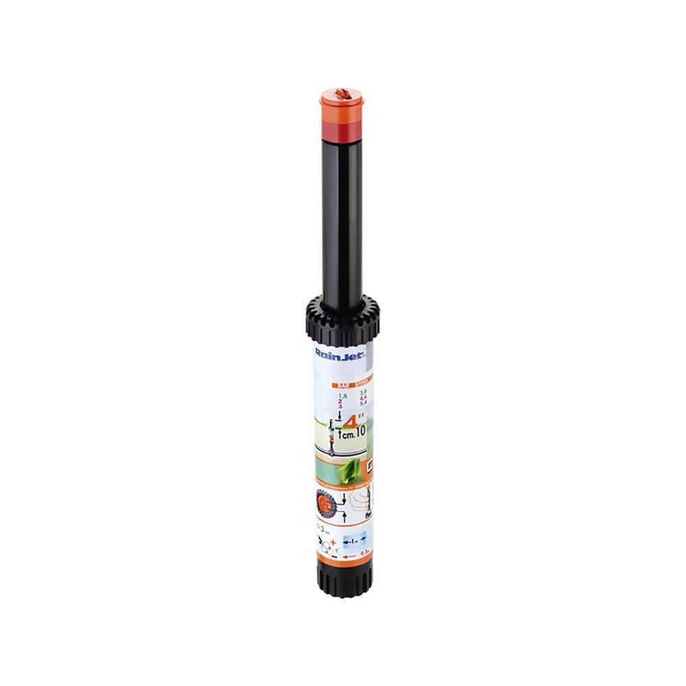 Irrigatore POP-UP statico regolabile centro banda, escursione 4'