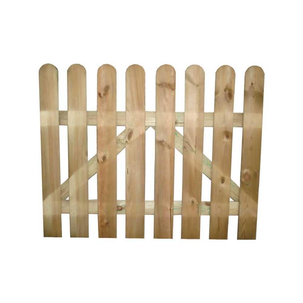Cancello in legno TULUM