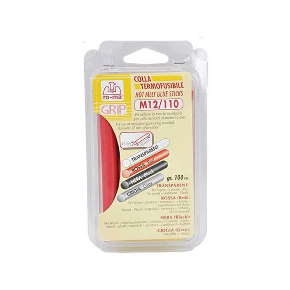 Colla termofusibile Ø 12 mm - colore rosso