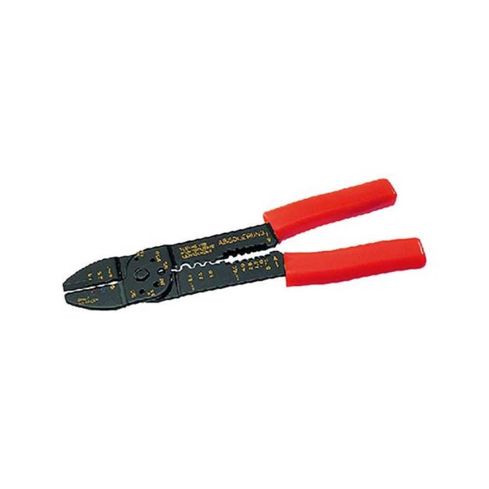 Pinza per capicorda e terminali isolati mm 205