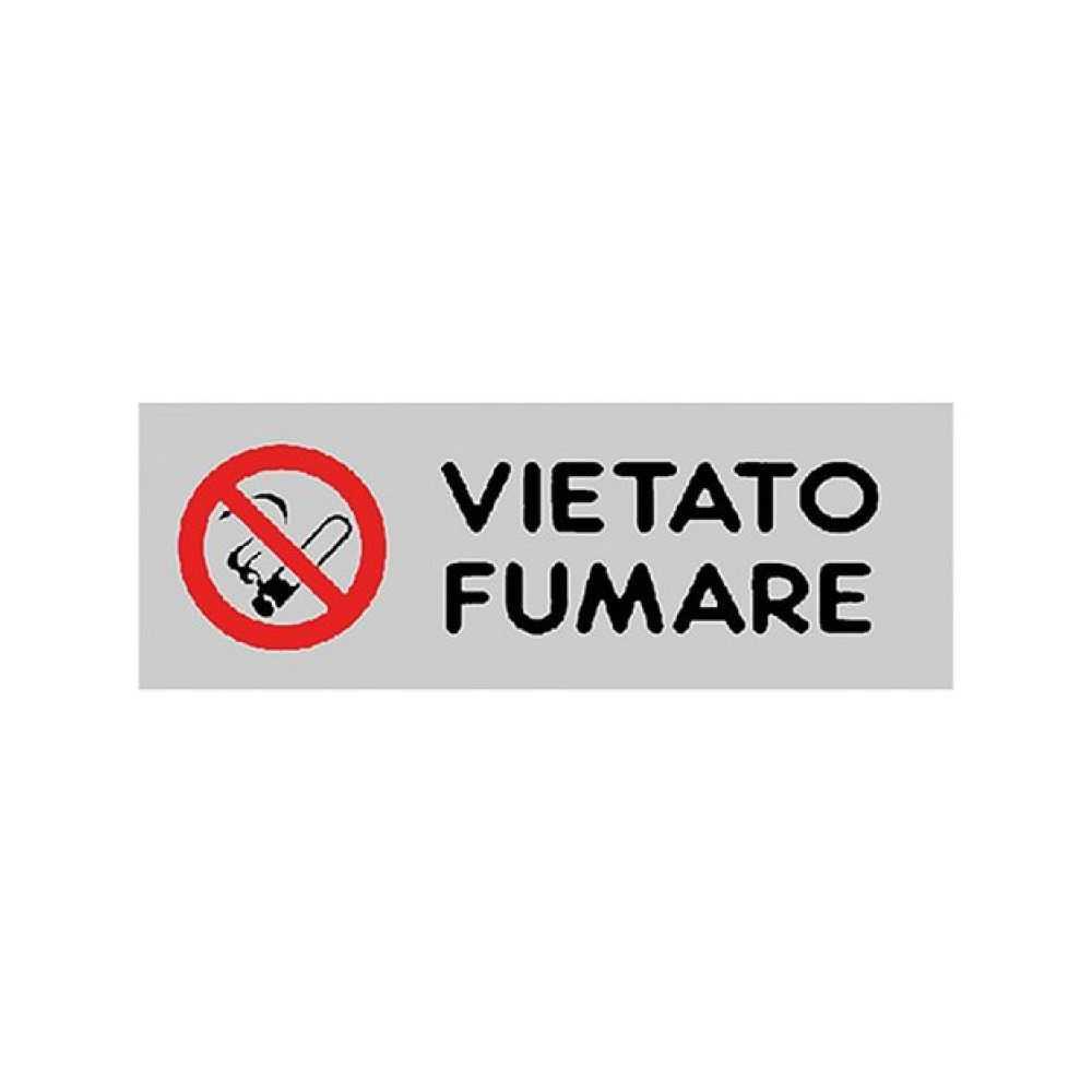 Etichetta 'Vietato Fumare'