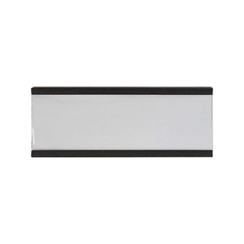 Porta etichetta magnetico cm 7,5 x 3