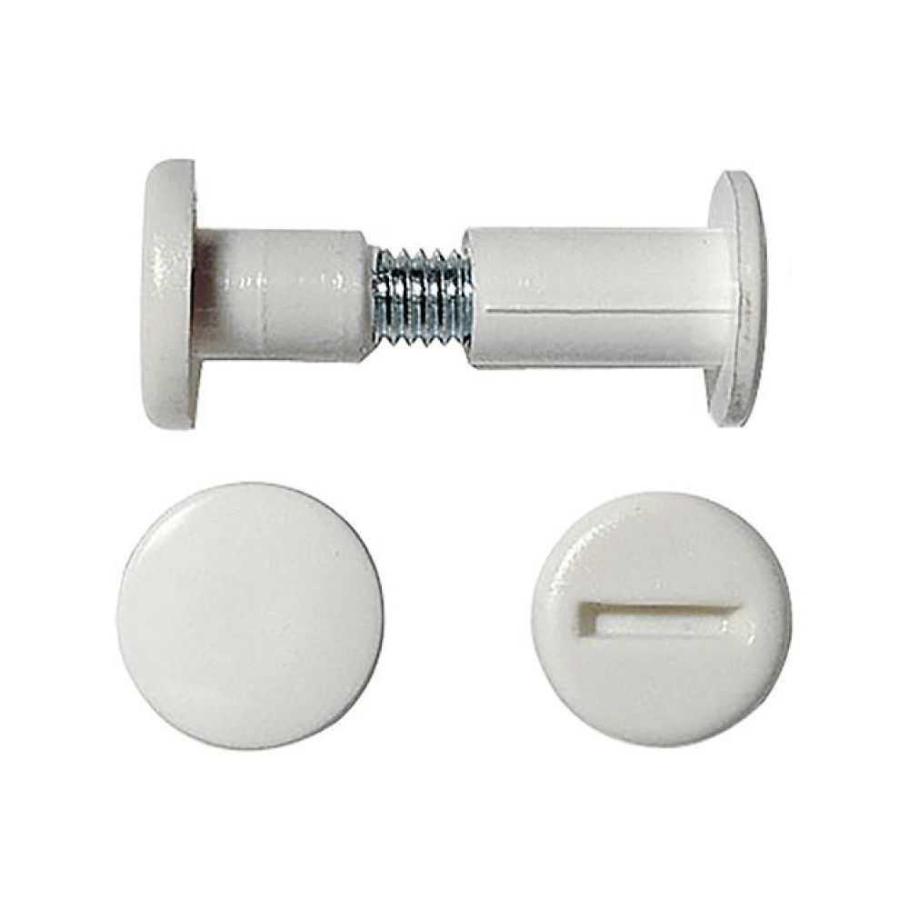 Giunzione per mobili mm 48÷58 - Bianco
