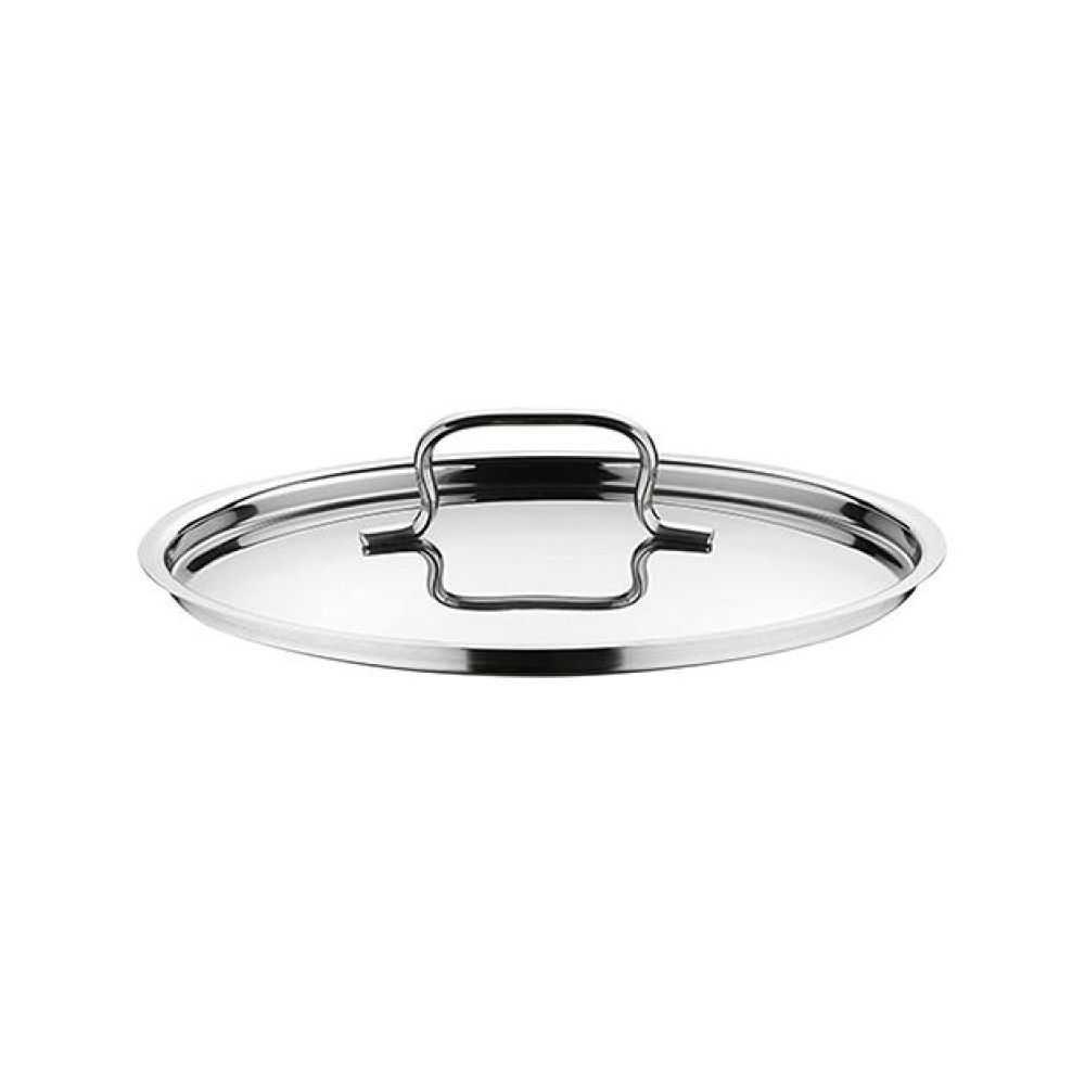 Coperchio in acciaio inox linea sfiziosa prodotto da Lagostina, disponibile diametro 14 cm e 20 cm