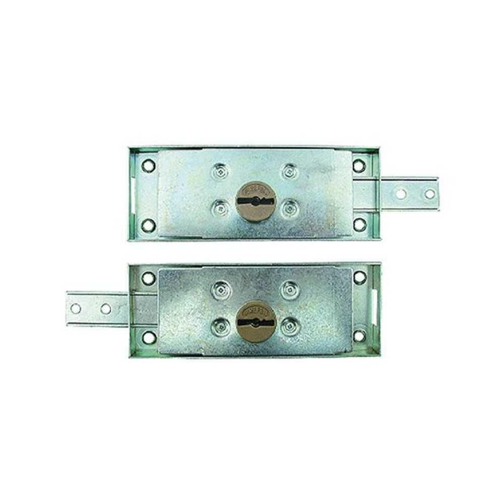 Serrature laterali accoppiate per serranda ART. 0733.0 Dx/Sx