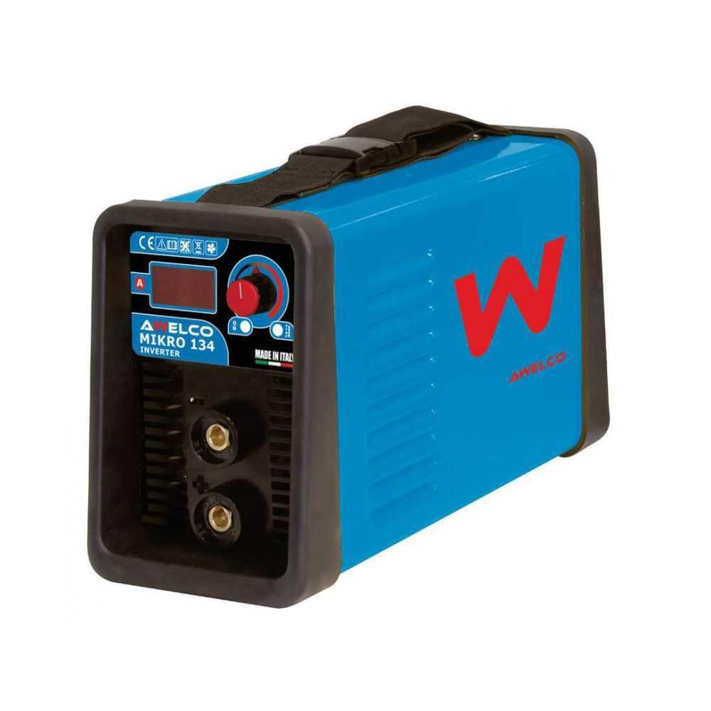 Saldatrice Awelco inverter Mikro 134 C/Kit
