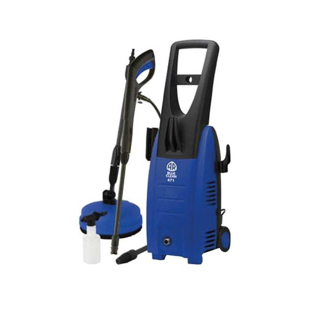 Idropulitrice Acqua Fredda Blue Clean 471 AR  con pompa a 3 pistoni in acciaio inox