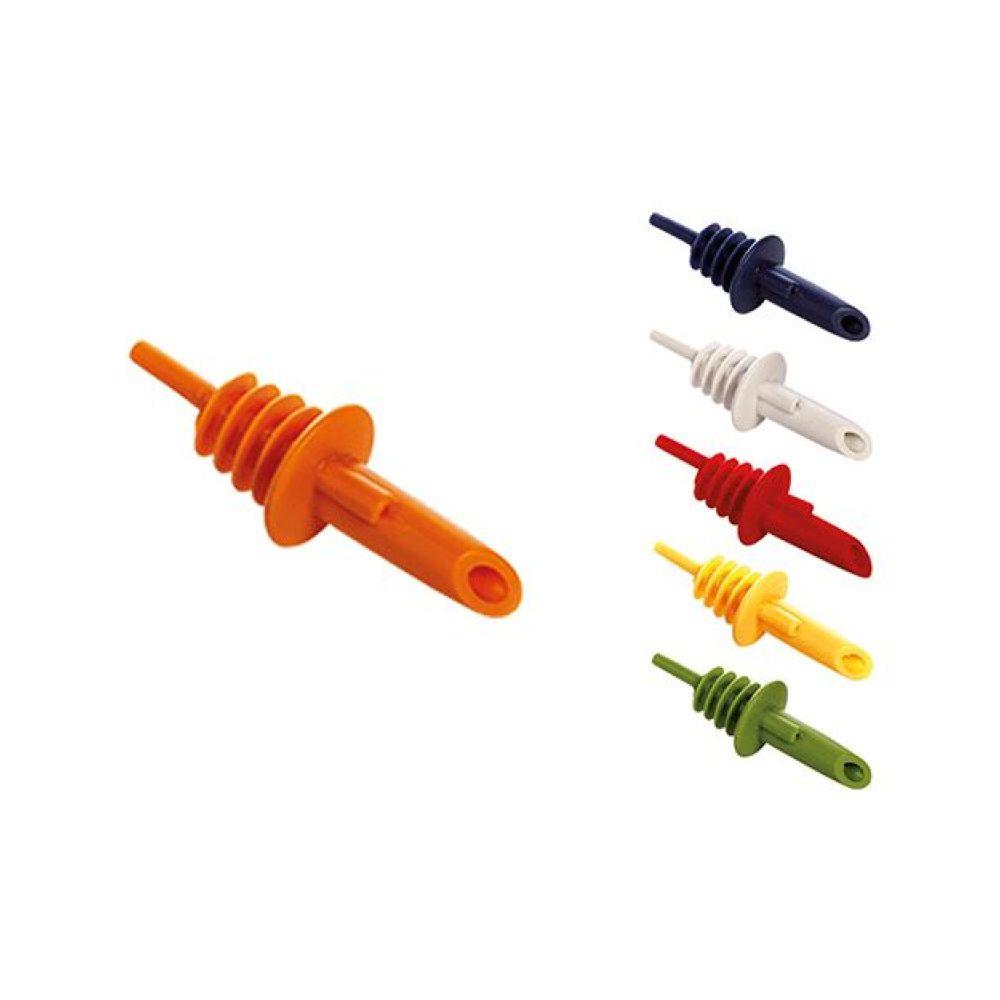 Tappi versatori in plastica colorata per ogni tipo di bottiglia