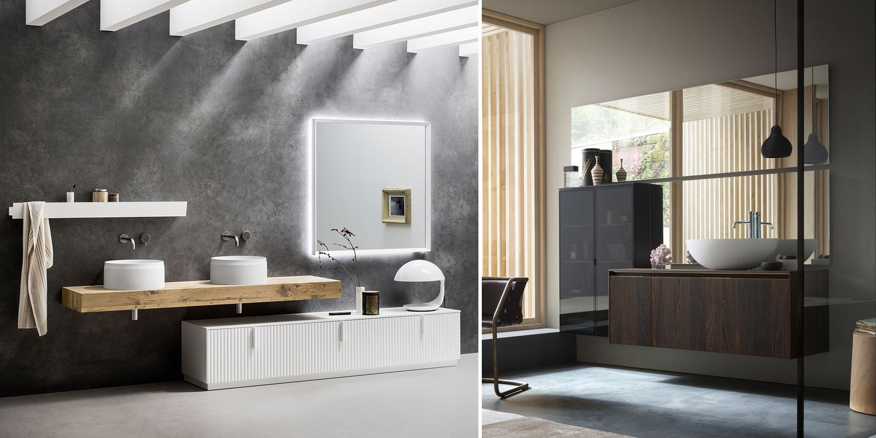 Arredo bagno, mobili sospesi: perché sceglierli?