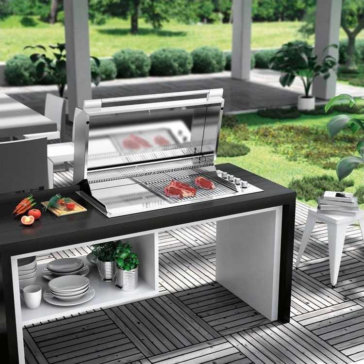 Barbecue Mobili Da Giardino.Barbecue Da Giardino A Gas E Piu Professionale
